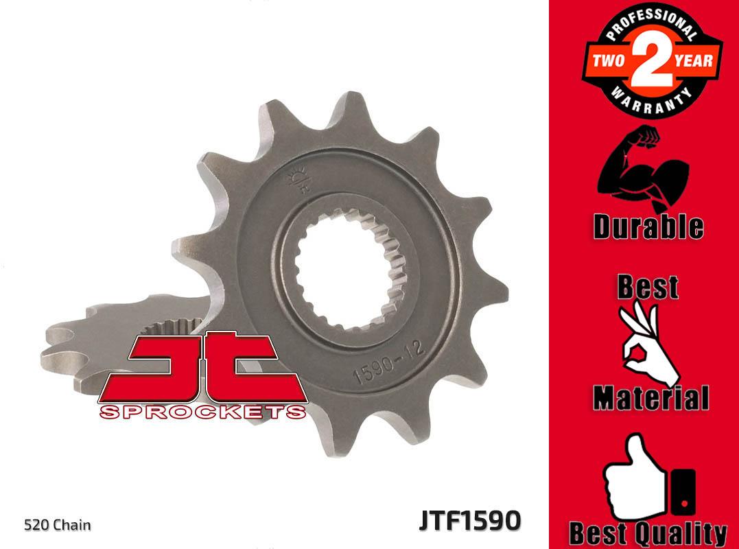 JT Front Sprocket Racing 13T 520 Pitch JTF1590.13SC Yamaha YZ 250 F 4T 2007